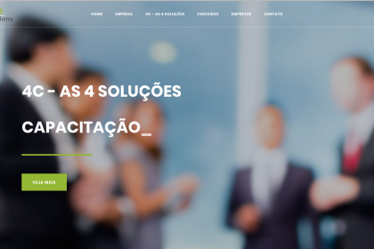Criação de site- 4C Solutions- www.4csolutions.com.br