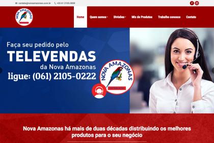 Desenvolvimento de Loja Virtual - Nova Amazonas