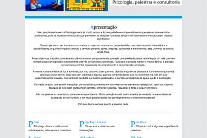 Desenvolvimento do site- Vera Nunes