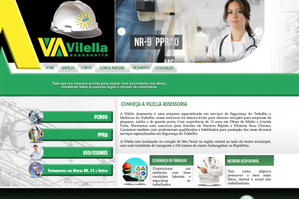 Hospedagem de Site e Manutenção de Sites- Vilella Assessoria