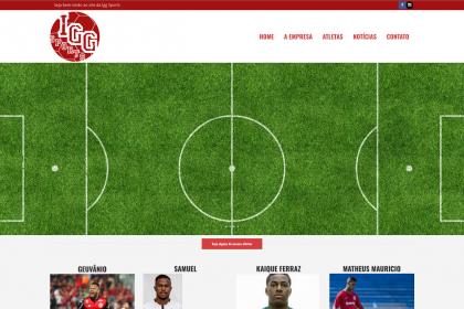 Desenvolvimento de Site- Igg Sports