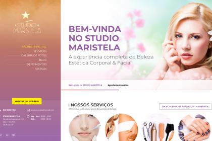 Desenvolvimento de site- Studio Maristela
