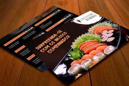 Design Gráfico - Sushi Express