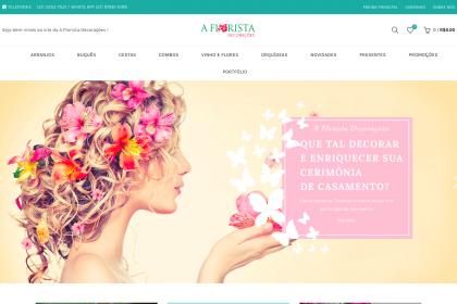 Criação de Loja Virtual, Google Ads e Registro de Domínio- A Florista Decorações