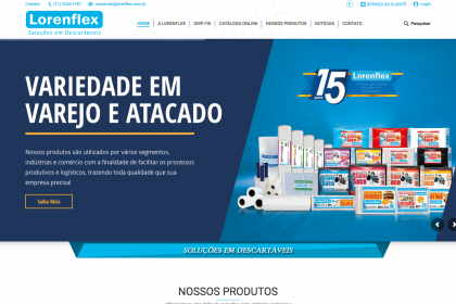 Manutenção de Site - Lorenflex