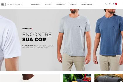 Desenvolvimento de Loja Virtual - Henri Store