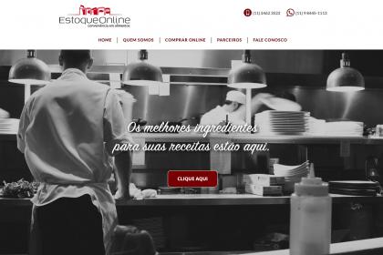 Manutenção de Site Estoque Online